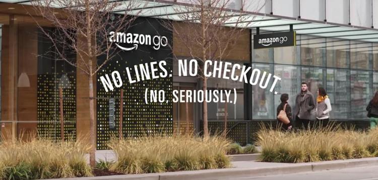 Amazon откроет первый супермаркет без очередей