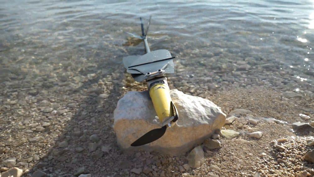 Создан беспилотник, способный нырять в воду