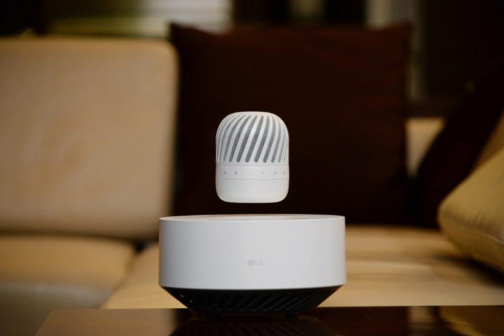 LG готовит запуск доступных левитирующих динамиков