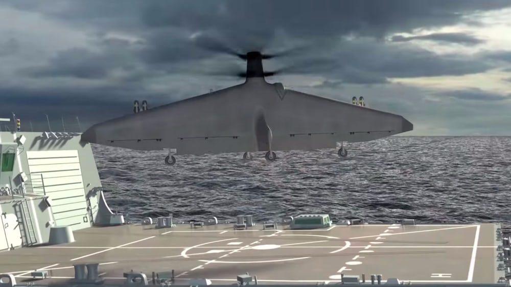 Прошло тестирование беспилотника для американского военного флота