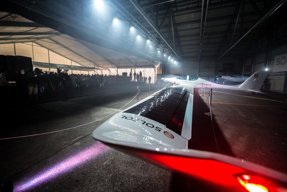 Создан очередной самолет работающий на солнечной энергии