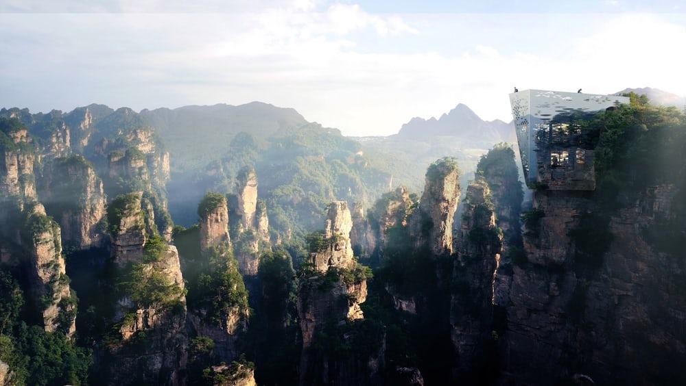 Вкитайском заповеднике построят прозрачный мост над бездной