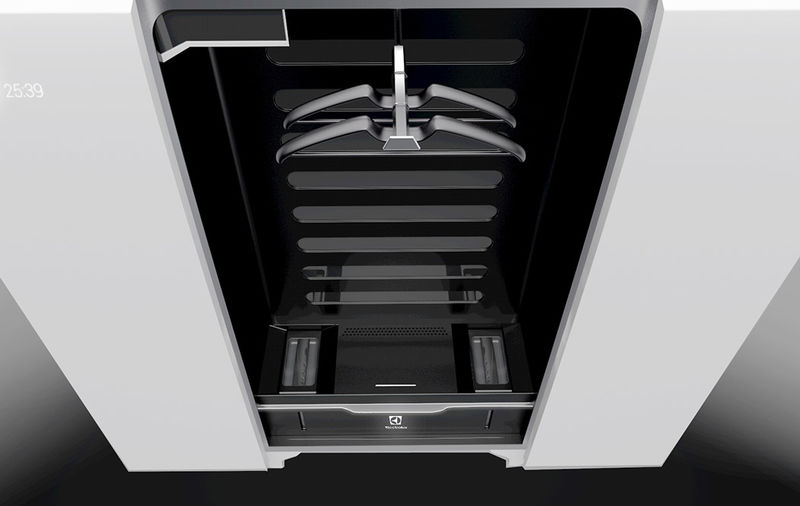 Создан концепт стирального шкафа