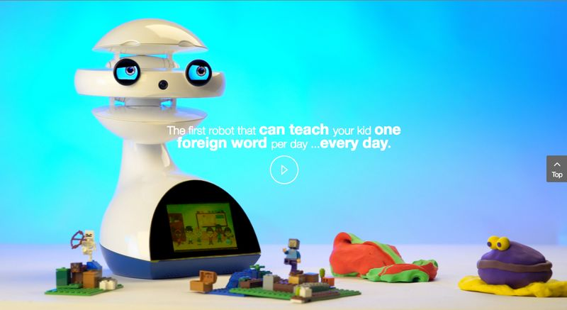Представлен двуязычный робот-учитель EMYS