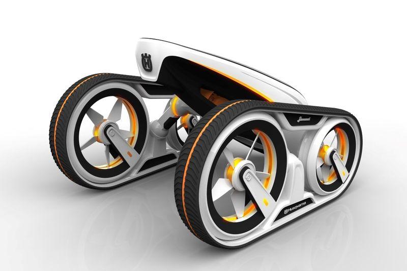 Разработана концепция дрона-трансформера
