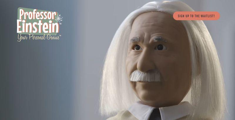 Великий ученый Эйнштейн будет учить детей