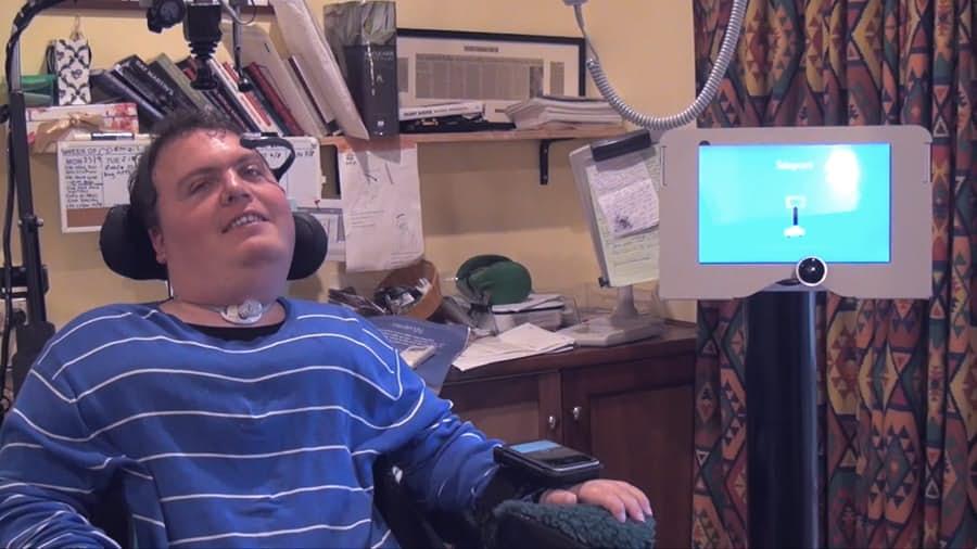"""В Австралии появился """"аватар"""" для инвалидов"""