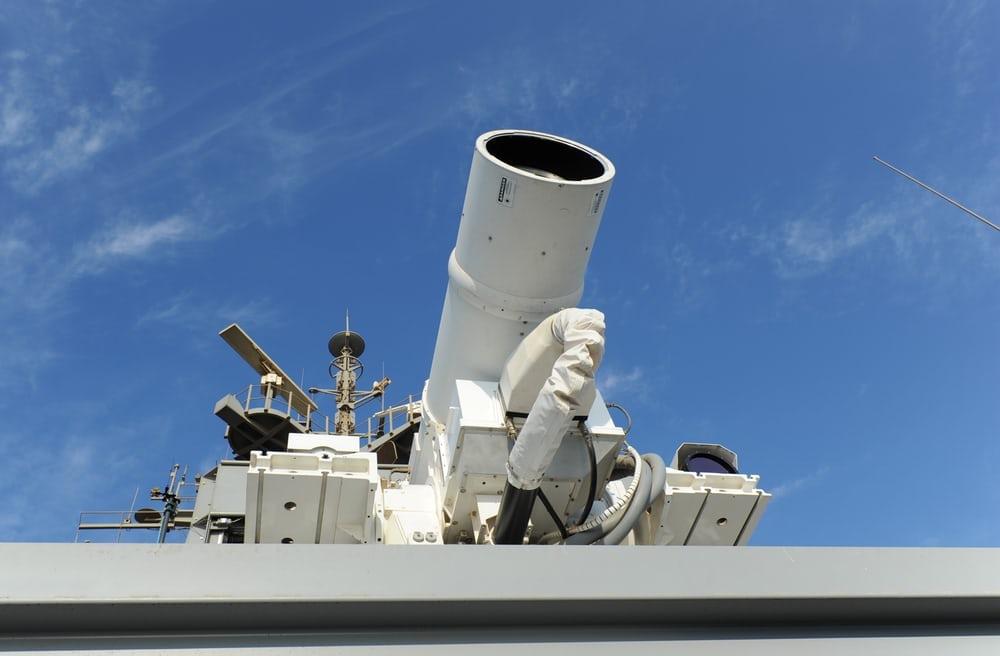 Минобороны Великобритании заключило договор насоздание боевой лазерной установки