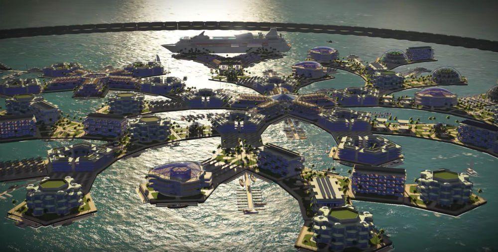 В Полинезии готовятся к строительству первого города на океане