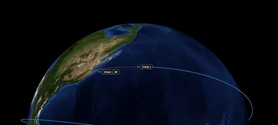 Falcon 9 сумел без проблем доставить спутники Iridium
