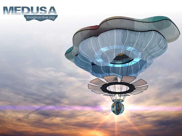 Появился концепт самолета-медузы