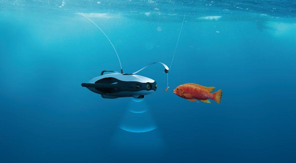 Теперь на дрона и рыбу ловить будет можно