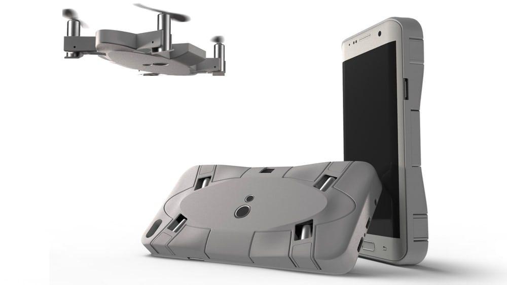 Появился новый дрон размером со смартфон