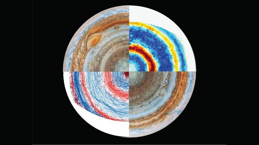 Ученые создали модель Юпитера