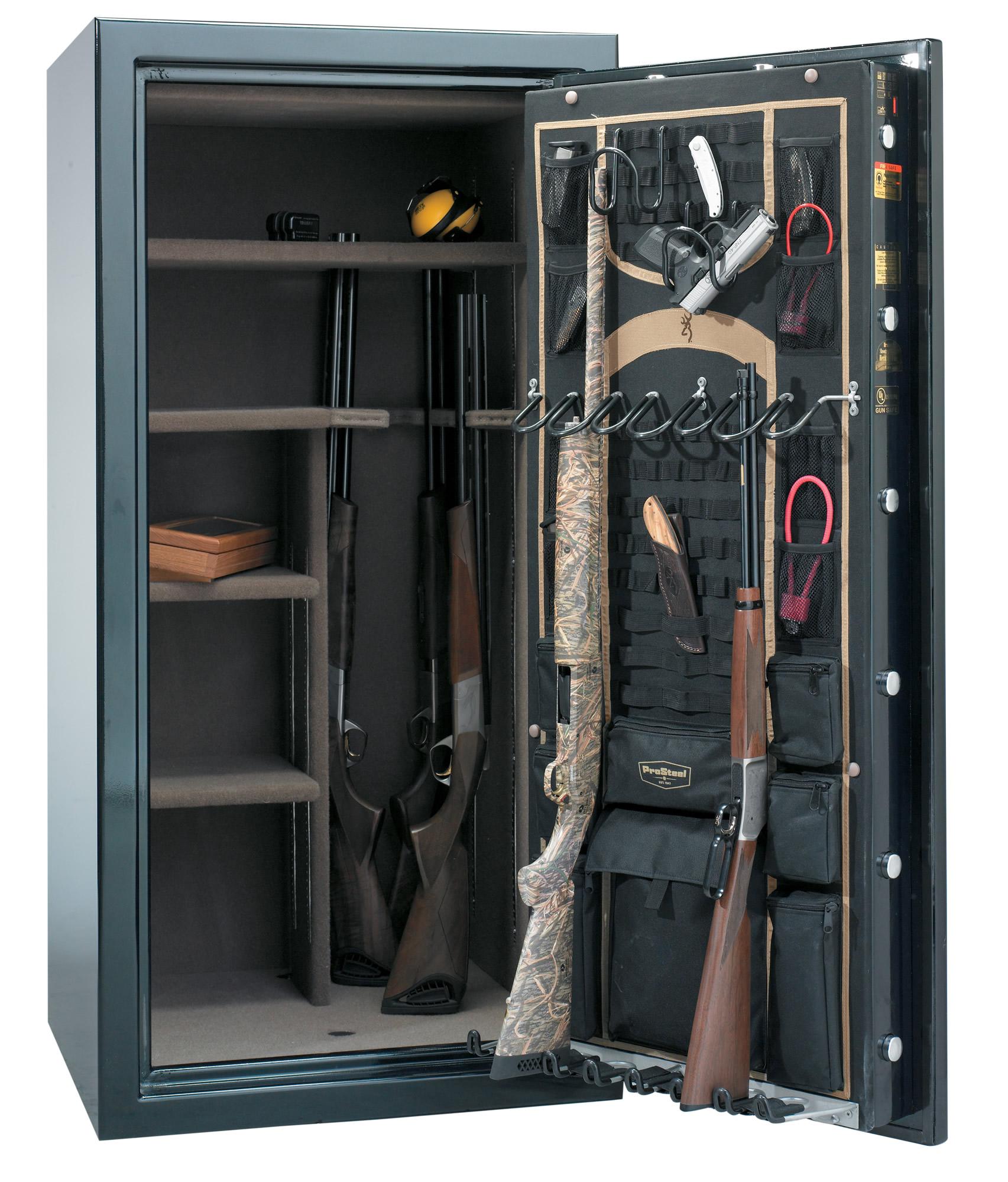 Как крепить сейф для хранения оружия глалкоствольного почти