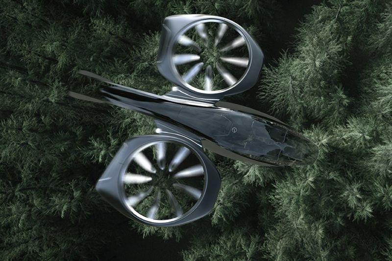 Представлен концепт транспорта будущего