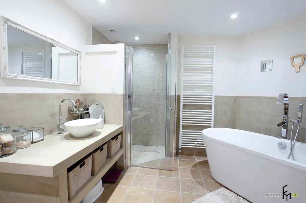фото современная ванная комната