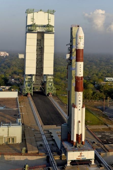 Индия доставила на орбиту рекордное количество спутников