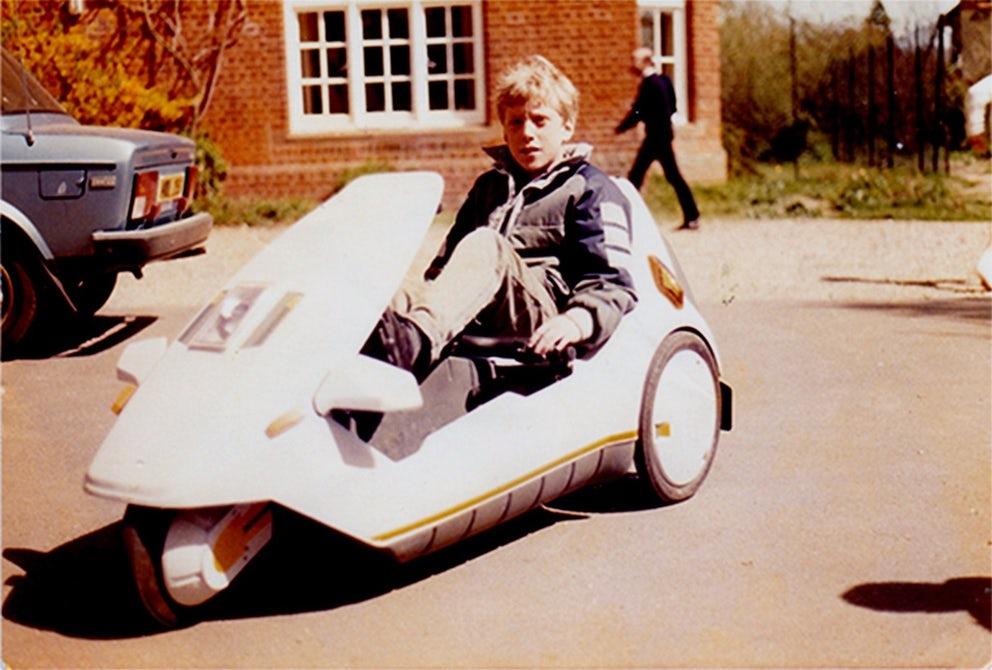 Племянник знаменитого изобретателя представил обновленный гибридный трицикл