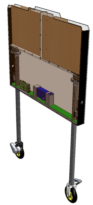 LastMileRobotics представила концепт автономного робота-курьера