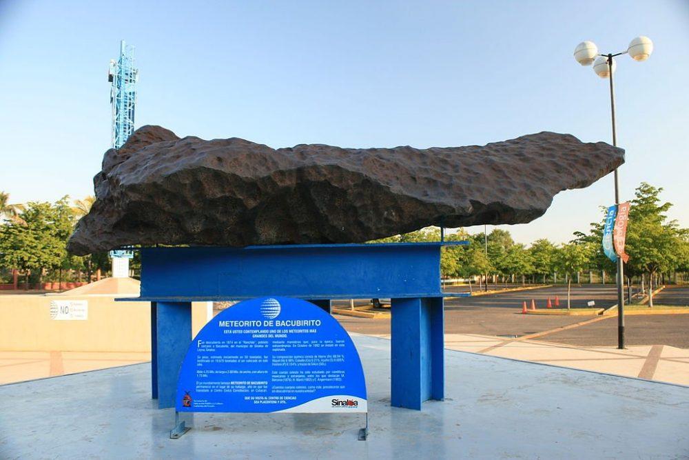 Шесть крупнейших метеоритов, когда-либо упавших на Землю