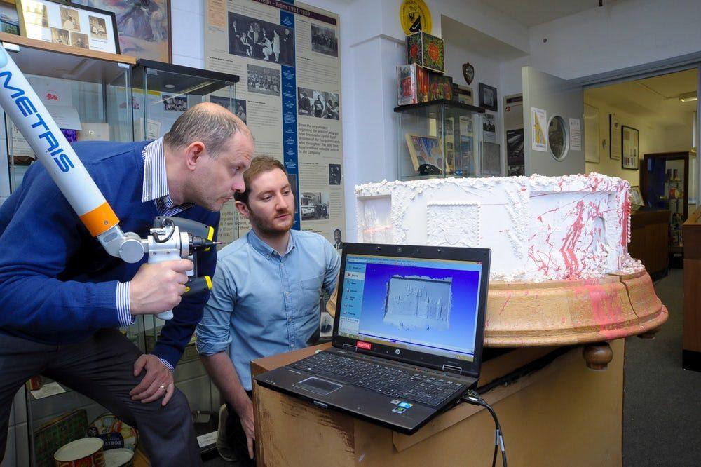 3D-сканирование помогло при реконструкции исторического торта