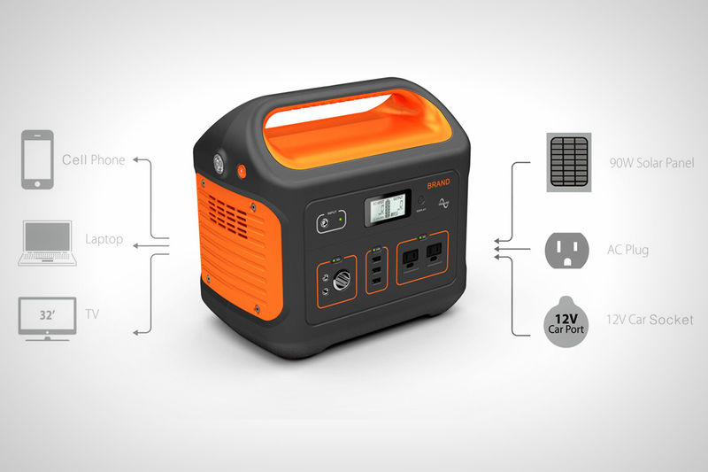 Представлена переносная солнечная батарея с аккумулятором