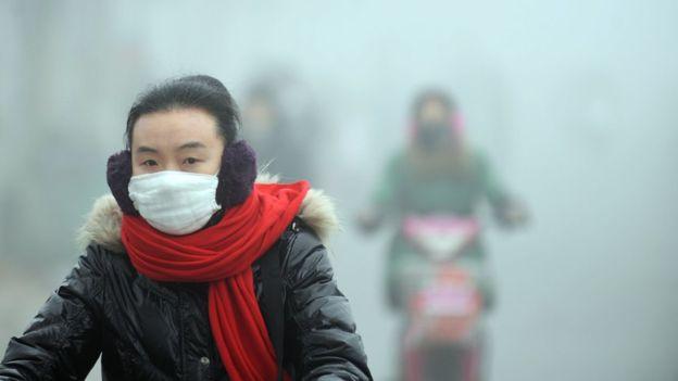 Смог в Китае вызван таянием арктических льдов