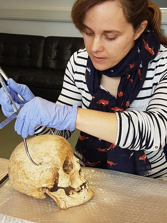 Ученые восстановили лицо человека жившего 700 лет назад
