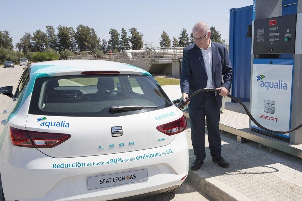 ВИспании заправят автомобили биотопливом, получаемым изсточных вод