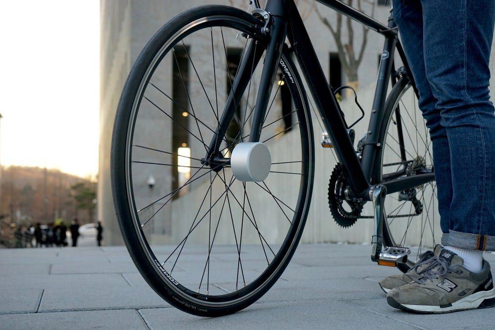 В Корее создали бесконтактный замок для велосипеда