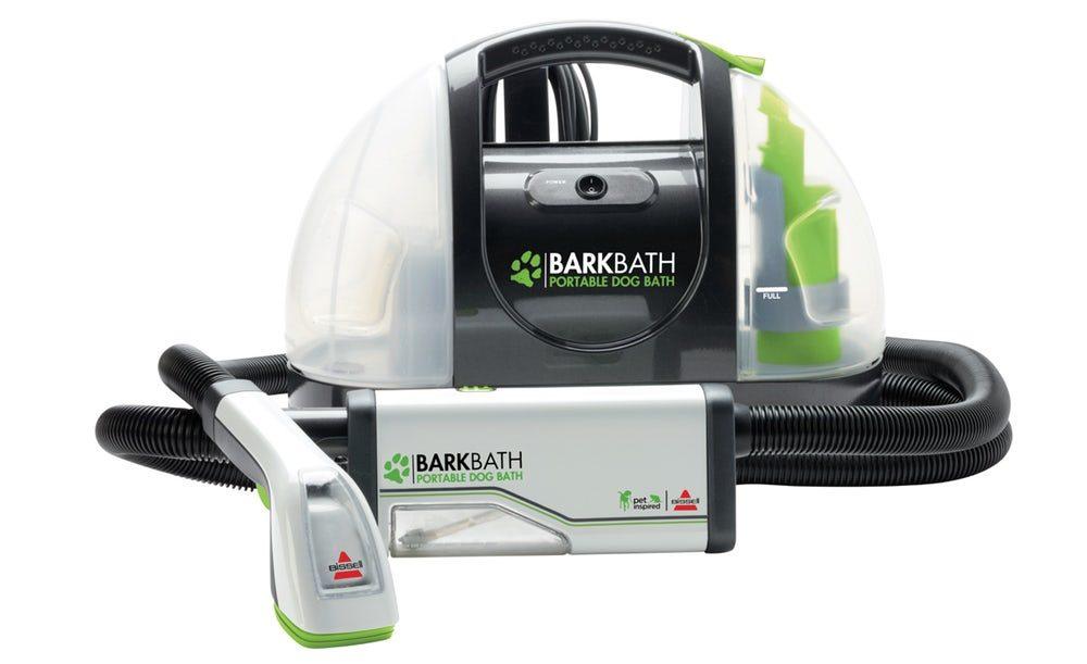Разработан аппарат пылесос для мытья собак