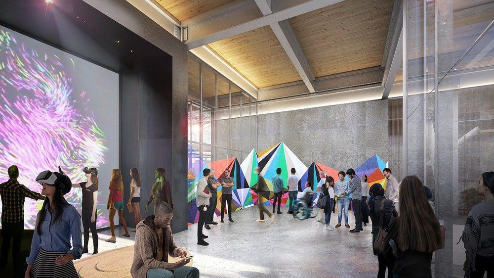 Google приступил к строительству своей новой штаб-квартиры