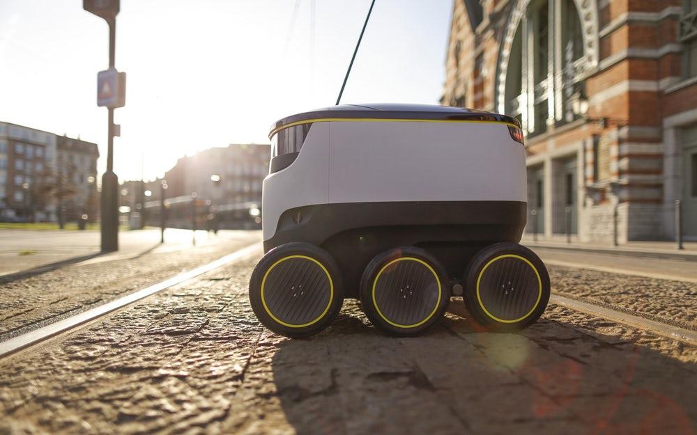 Вевропейских странах пиццу будут доставлять при помощи автономных роботов