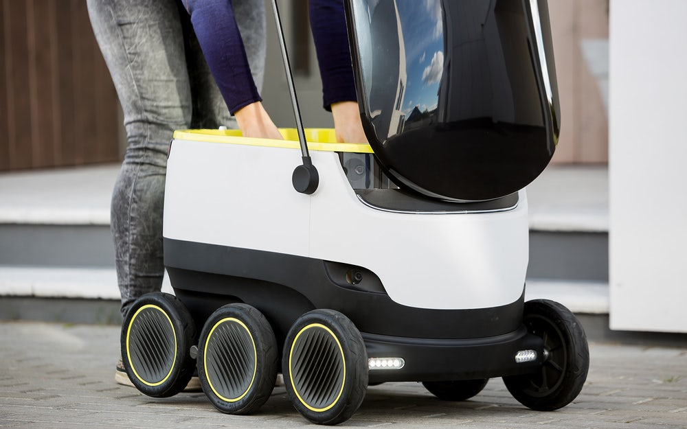 Domino's будет доставлять пиццу вГамбурге при помощи роботов