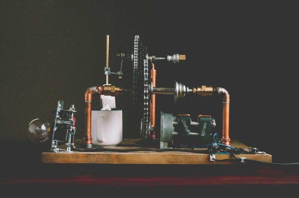 Создан аппарат для автоматического заваривания чая в пакетиках