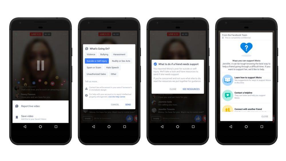 Facebook будет использовать ИИ для борьбы с суицидами