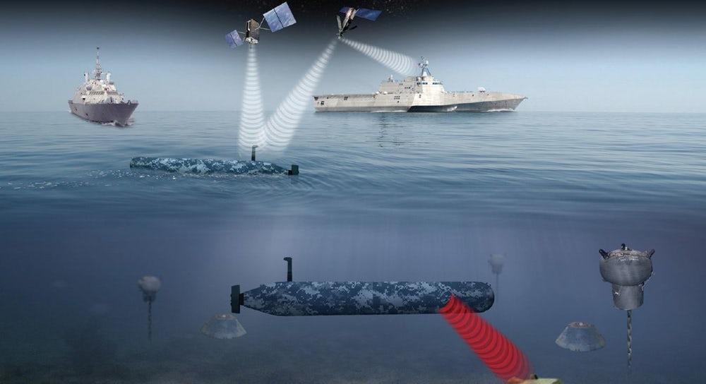 Для флота США разрабатывают дрон, способный обнаруживать мины