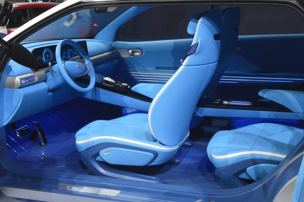 Hyundai представила новый кроссовер на водородном топливе