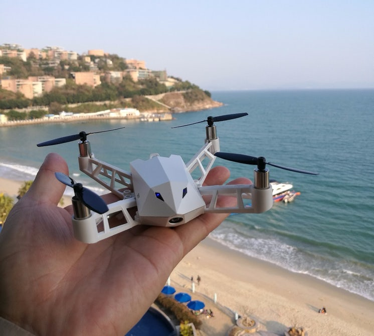 Kudrone - крошечный дрон с большими возможностями