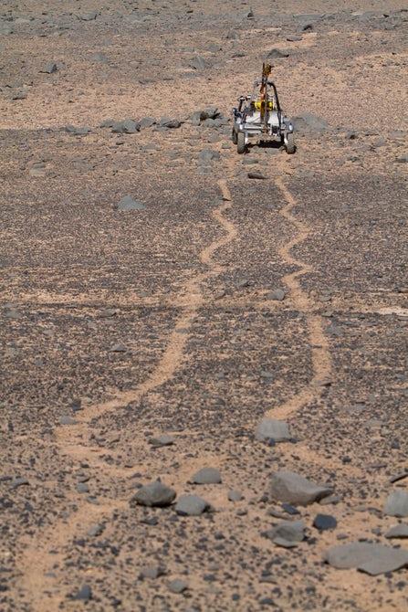 В чилийской пустыне тестируют марсоход NASA