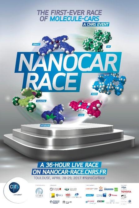 Во Франции пройдут соревнования нано-машин