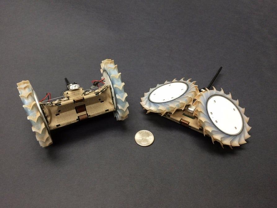 Представлен компактный робот для исследования Марса