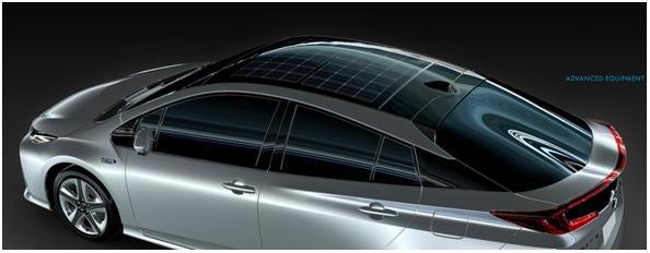 Panasonic создала солнечную батарею для нового Prius