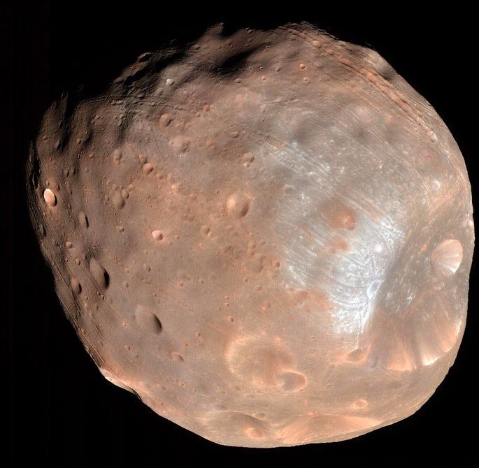 Ученые считают, что спутники Марса исчезают и восстанавливаются