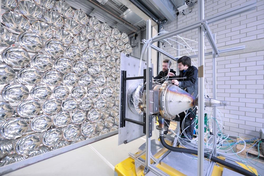 В Германии построили самое большое в мире искусственное солнце