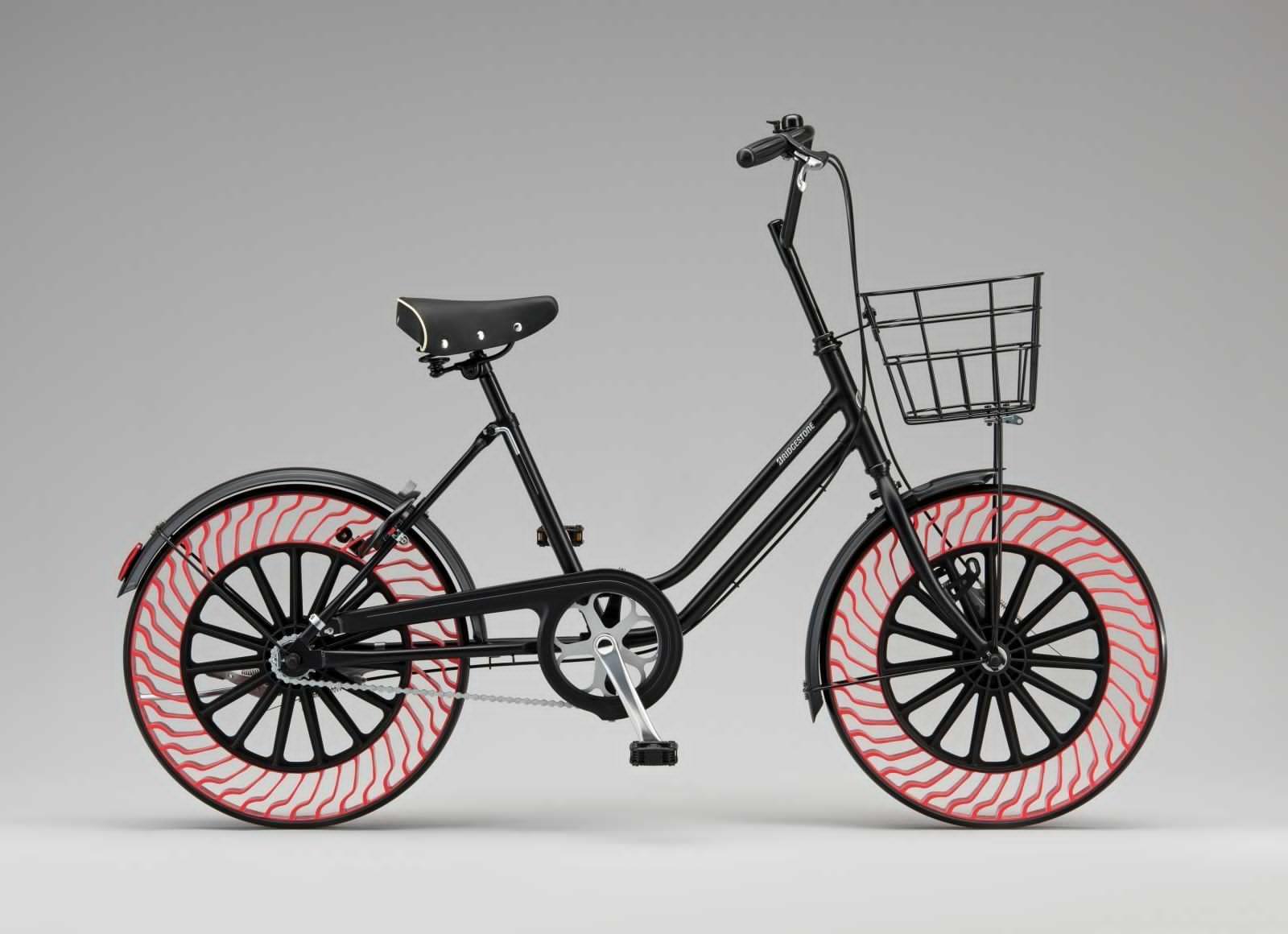 Представлен прототип безвоздушных велосипедных колес