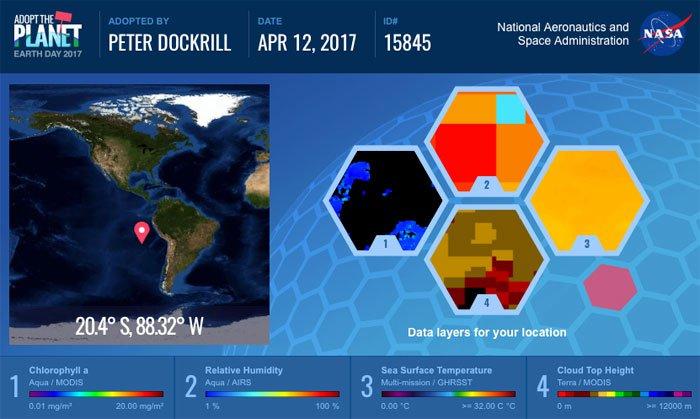 """NASA предлагает всем желающим """"усыновить"""" Землю"""