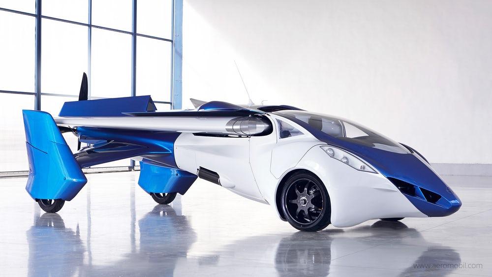 Летающий автомобиль AeroMobil изСловакии покажут вапреле class=
