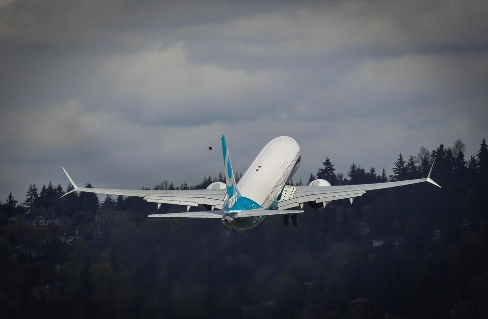 В США прошли испытания нового Boeing